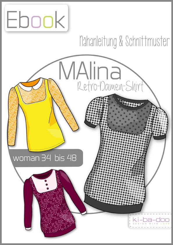 Ebook MALINA - Ebook - Schnittmuster und Anleitung als Pdf Datei in ...