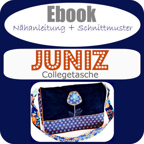 Bewertungen zu Ebook Collegetasche JUNIZ - Ebook - Schnittmuster und ...