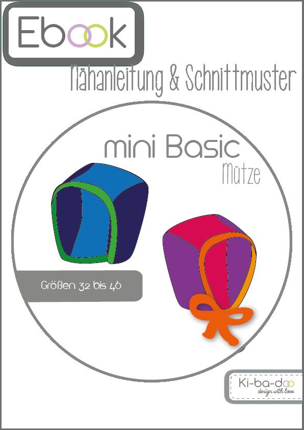 Ebook mini Basic Mütze- Schnittmuster und Anleitung als PDF Datei A4 ...