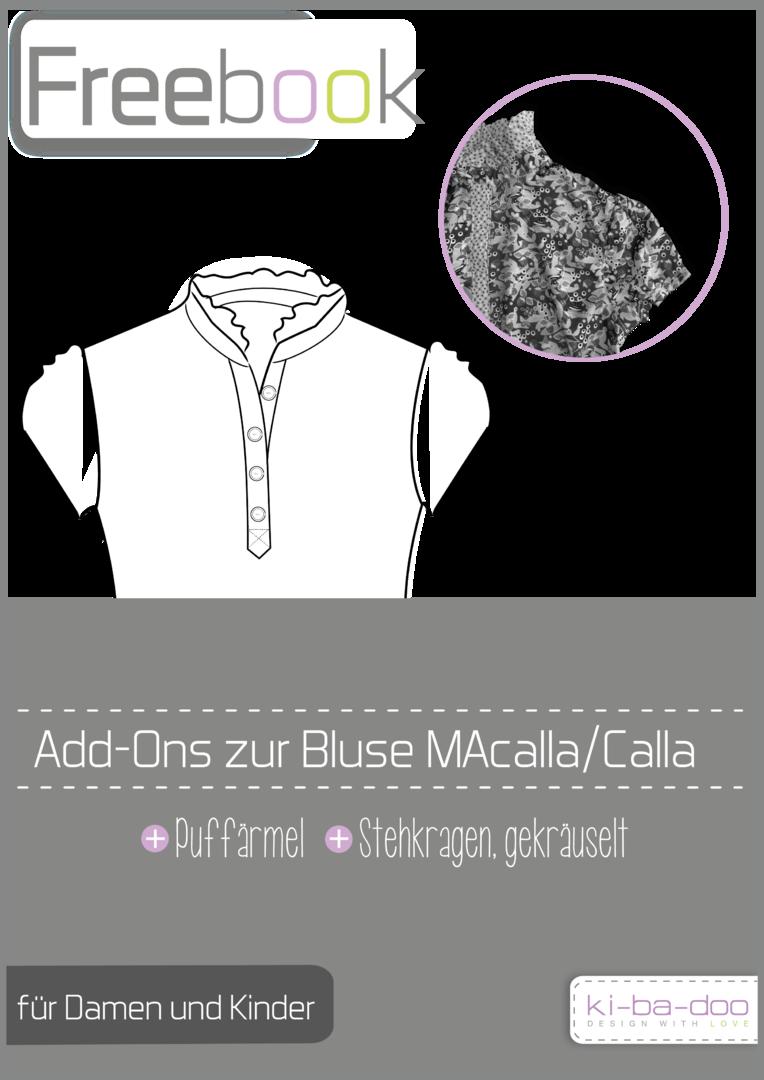 Freebook zur Hemdbluse - kostenloses Schnittmuster und Anleitung als ...