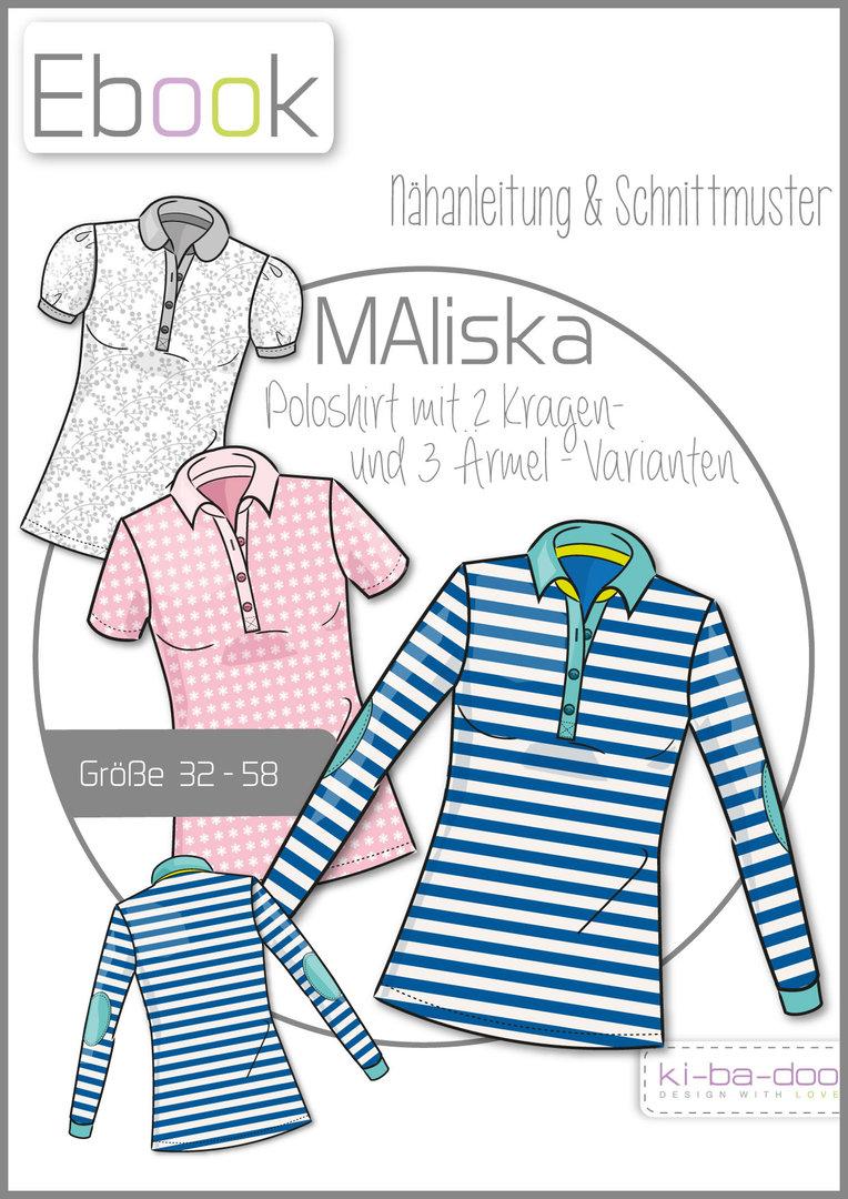 Ebook Poloshirt MAliska - Ebook - Schnittmuster und Anleitung als ...