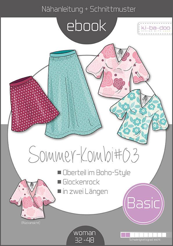 Mix&Match Sommer_kombi #03 - Schnittmuster und Anleitung als PDF ...