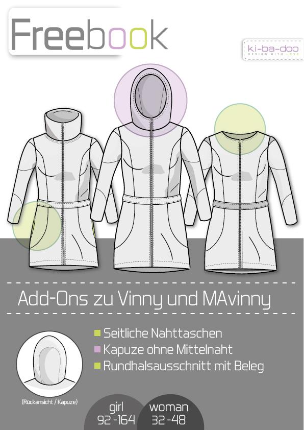 Freebook zu den Ebooks MaVinny_Vinny - Schnittmuster und Anleitung ...