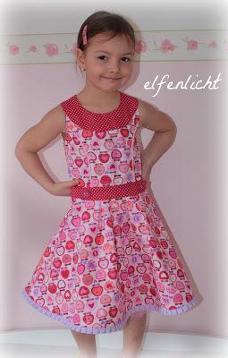 Schnittmuster kleid 104