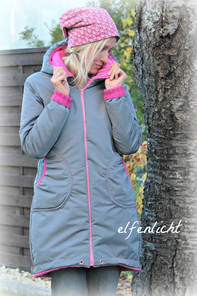 Jacke damen freebook