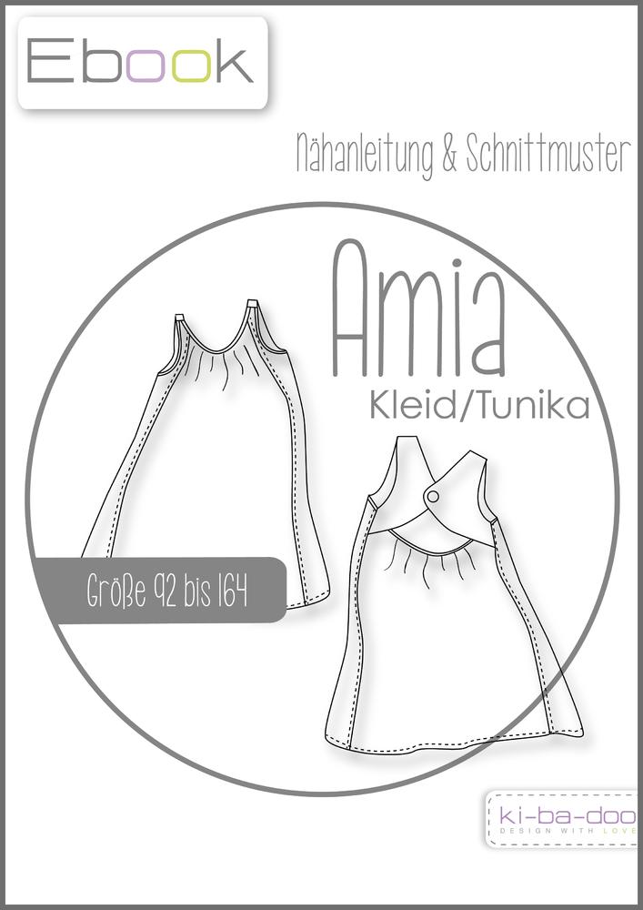 Ebook AMIA - Ebook - Schnittmuster und Anleitung als Pdf Datei in A4 ...