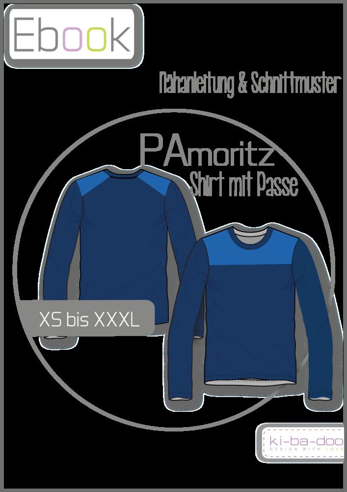 8b853f73a090cf Ebook Shirt mit Passe PAmoritz - Schnittmuster und Anleitung als PDF Datei  in A4