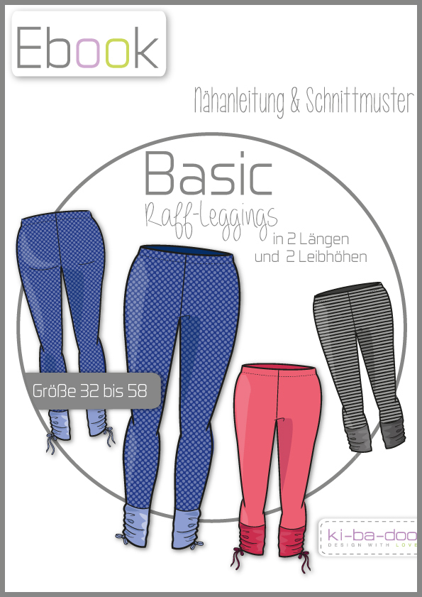 Ebook Raff-Legging Damen - Schnittmuster und Anleitung als PDF Datei ...
