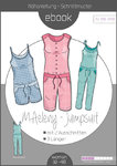 Ebook Jumpsuit MAeleny Gr.32-48- Schnittmuster und Anleitung als PDF Datei in A4