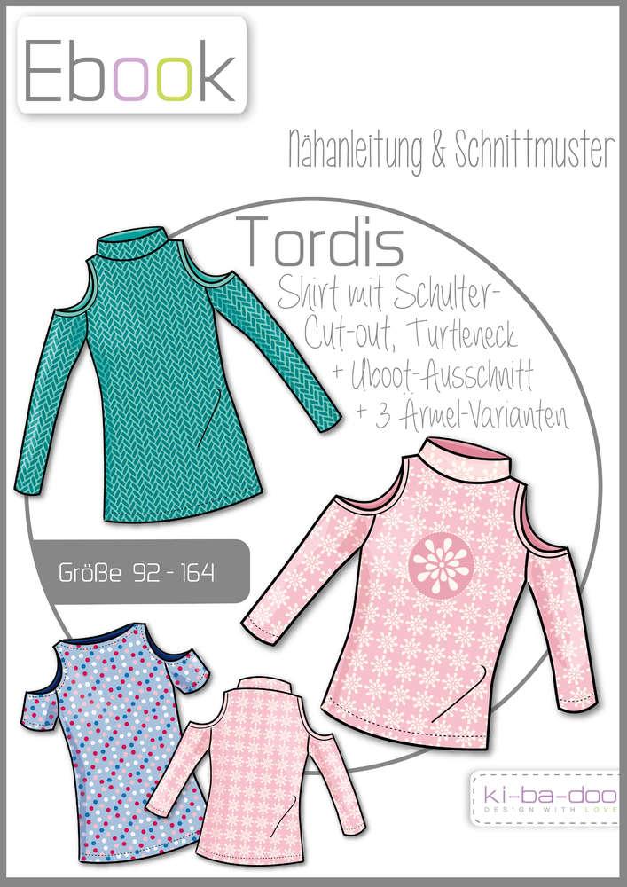 Ebook Tordis - Ebook - Schnittmuster und Anleitung als Pdf Datei in ...