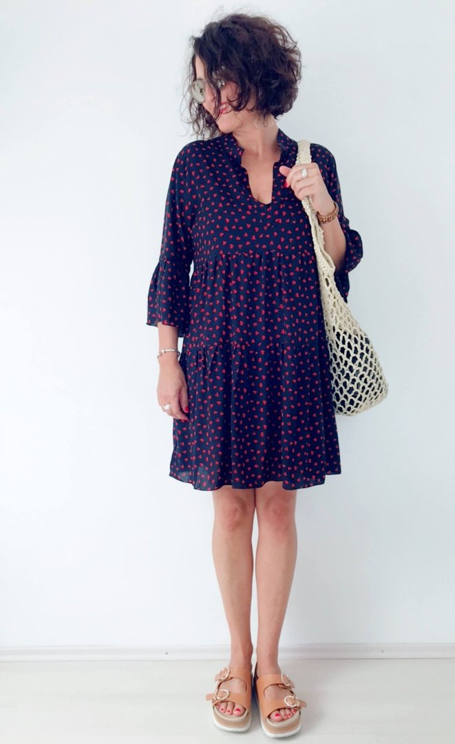 Schnittmuster tunika kleid madchen kostenlos